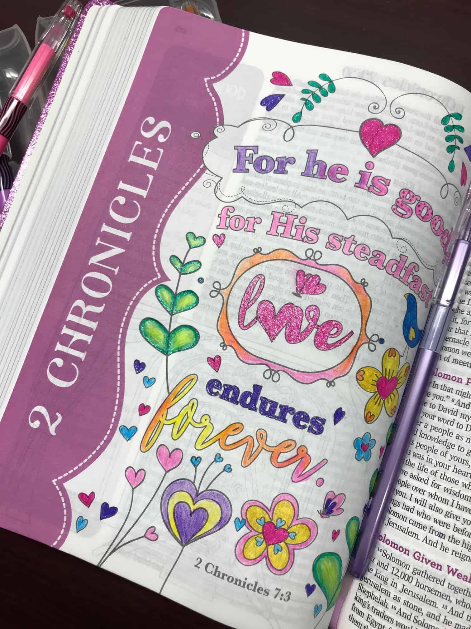2 Chronicles 7:3