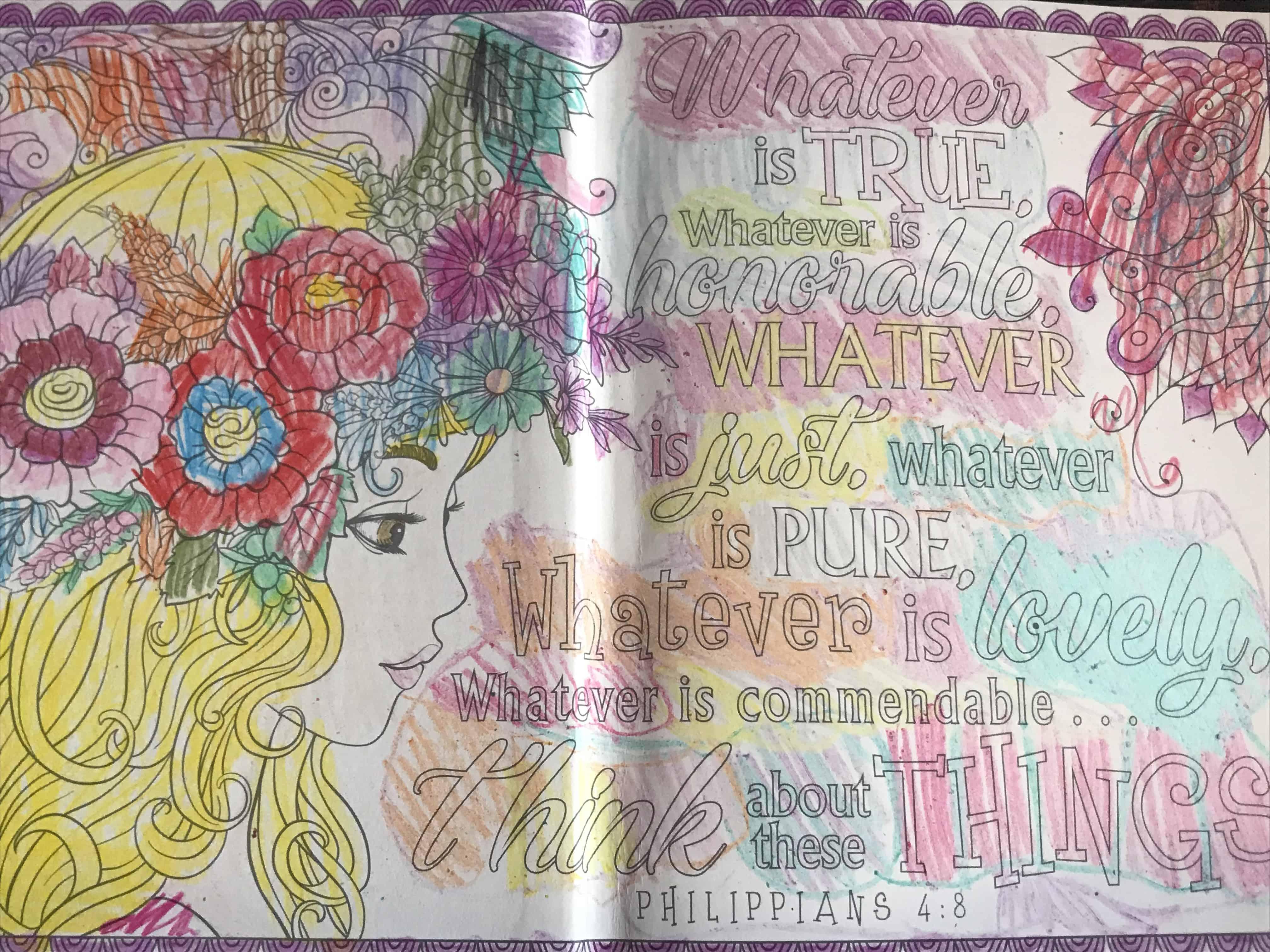 My Creative Bible | Philippians 4:8 Creative Bible