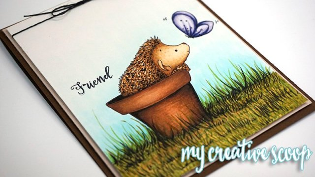 How to Color Grass using Copic Markers
