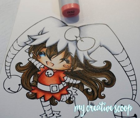 How to Color and Shade Red Copic Markers 5