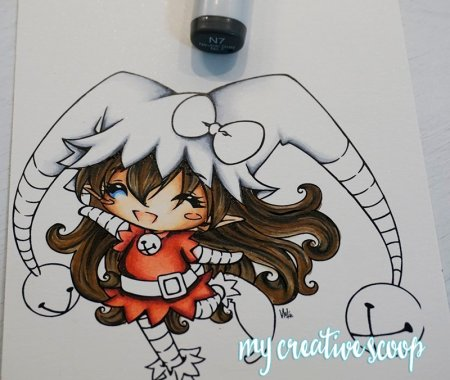 How to Color and Shade Red Copic Markers 6