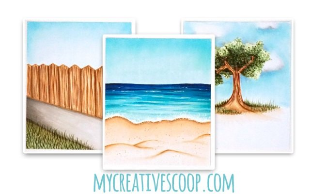 How to Create Backgrounds with Copic Markers - Copic Tutorial - Online Copic Class