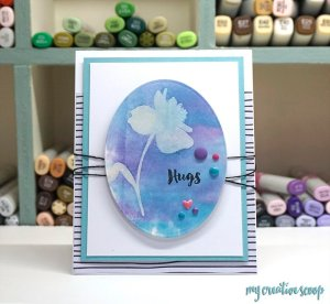 Altenew New Day Card Kit Blog Hop + Giveaway + Copic Marker Tutorial
