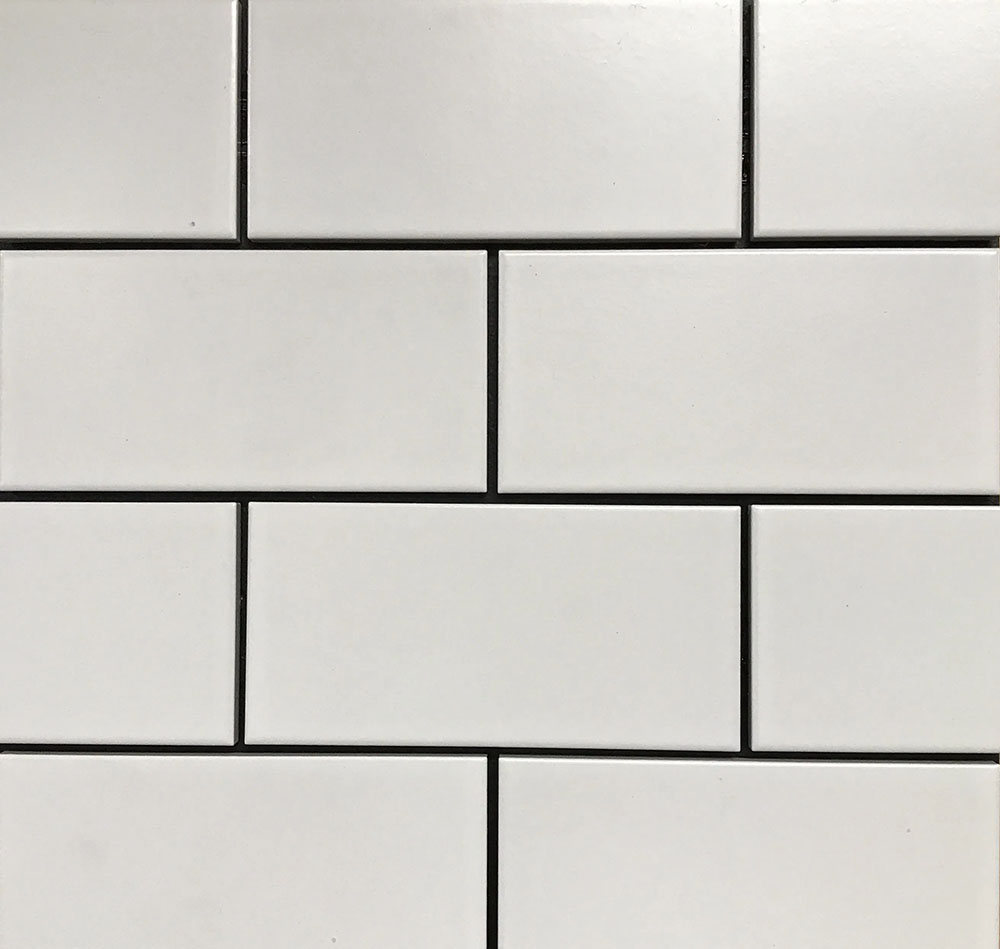 continental subway matte white