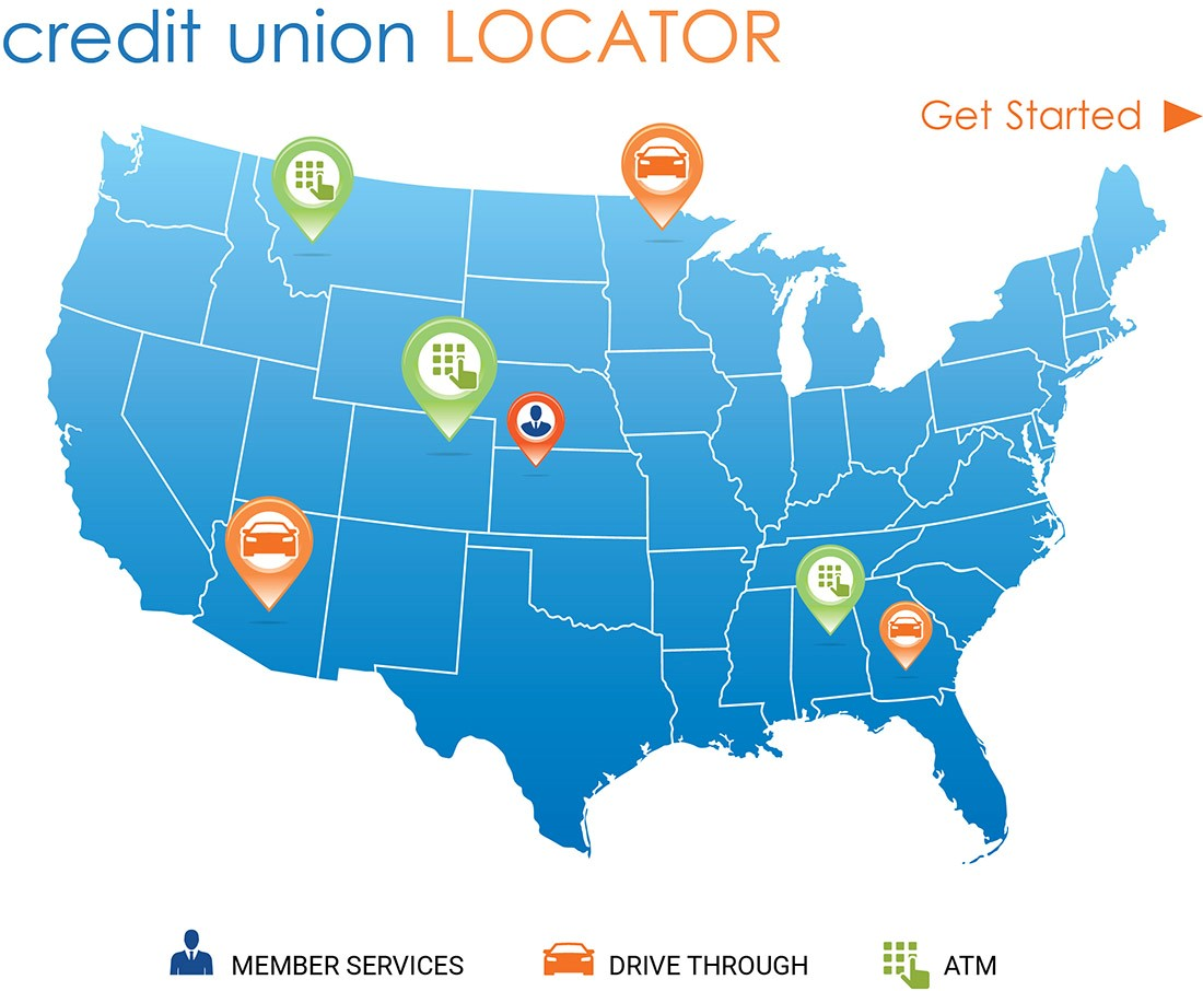 Credit Union Locator