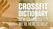 Glossario Terminologia Crossfit - Impariamo Insieme