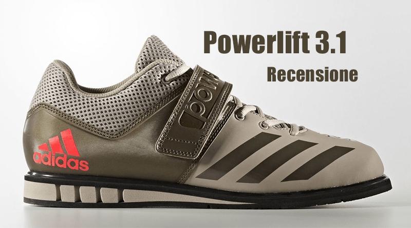 Recensione e Prova Adidas Powerlift 3.1