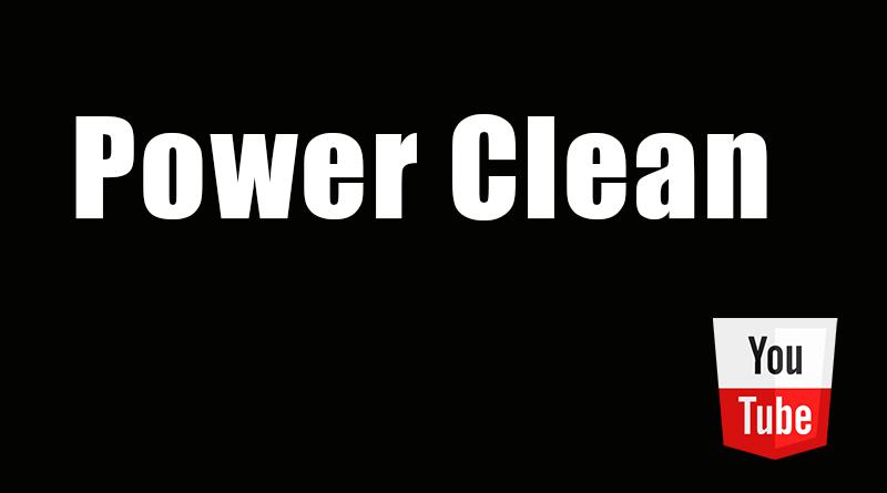 power clean crossfit