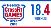 BREAKING NEWS - 16 Marzo - Workout 18.4 Open 2018 - Dave Castro