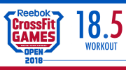 BREAKING NEWS - 23 Marzo - Workout 18.5 Open 2018 - Dave Castro