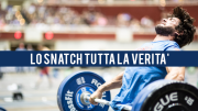 Lo Snatch nel CrossFit - Che cosa è ed a cosa serve ?
