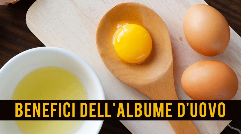 Albume d'uovo - benefici per la salute e informazioni nutrizionali