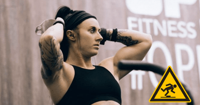 rachel cambell banned crossfit games