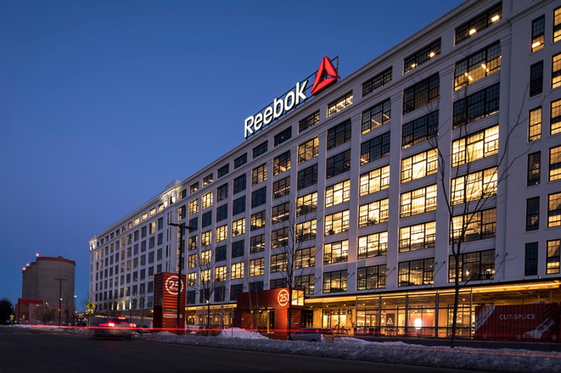 uffici reebok a boston head quarters
