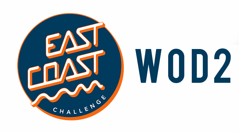 Wod 2 di qualifica East Coast Challenge