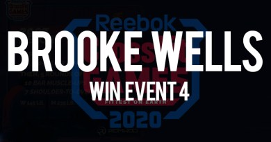 Brooke Wells vince l'evento n 4 dei crossfit games