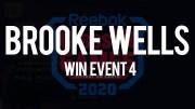 Brooke Wells vince l'evento n°4 dei CrossFit Games 2020 Handstand Sprint