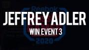 Jeffrey Adle vince l'evento n°3 dei CrossFit Games 2020 CrossFit Total
