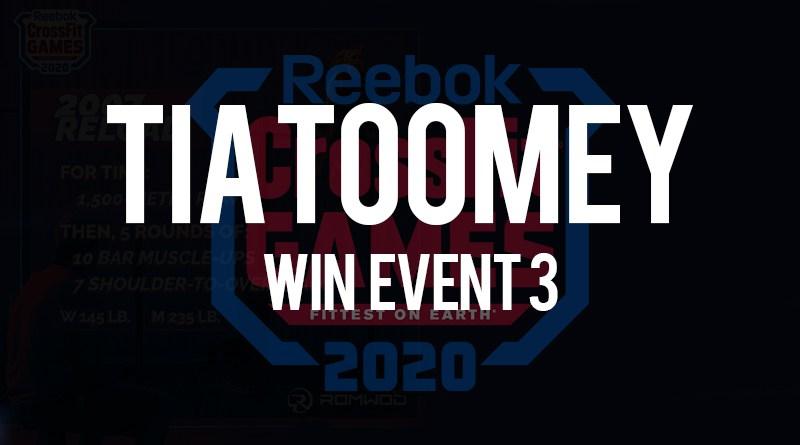Tia Toomey vince l'evento n 3 dei crossfit games