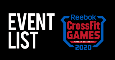 eventi crossfit games 2020