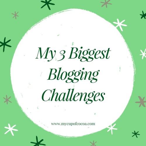 biggest blog challenges