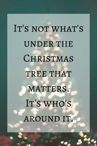 christmas tree quote