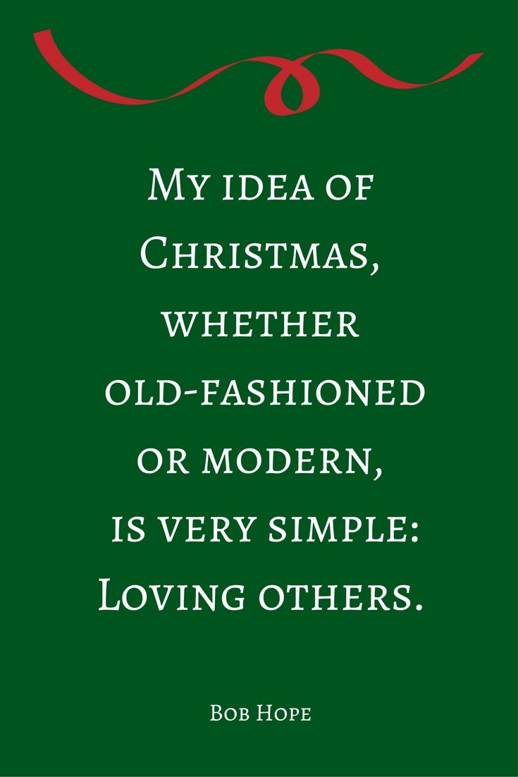 Bob Hope Christmas Quote