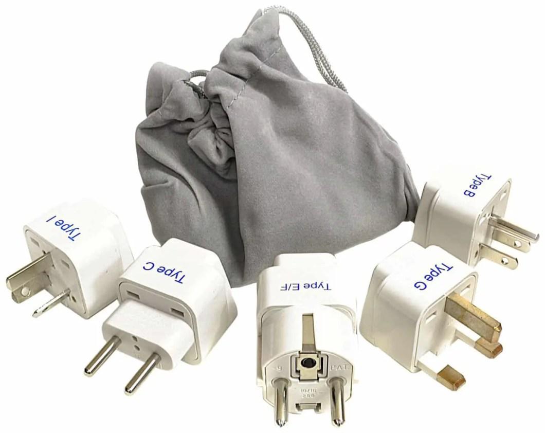 Worldwide Plug Adapter Set