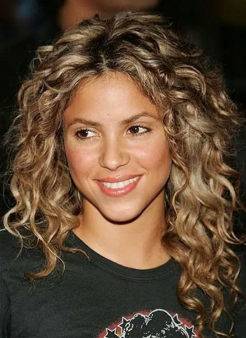Shakira Ringlet Curls Hairstyle
