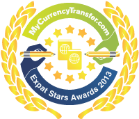 Finalist - MyCurrencyTransfer.com's Expat Stars Awards 2013