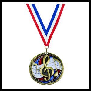 """Music Medal (CEM) - 2-1/2"""""""