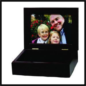 Photo Box - mahogany