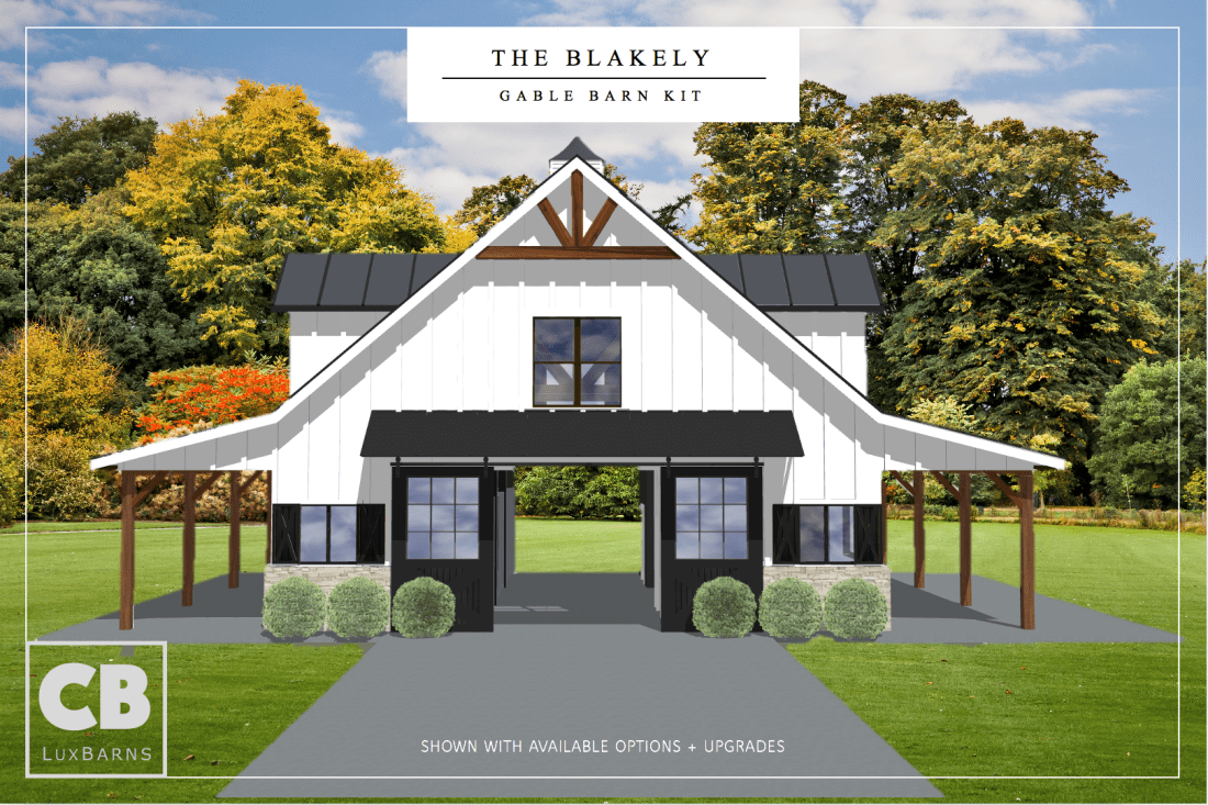The Blakely Horse Barn Kit