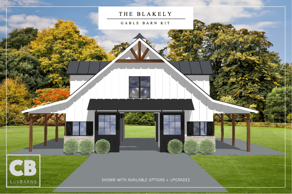 The Blakely Barn Kit Front