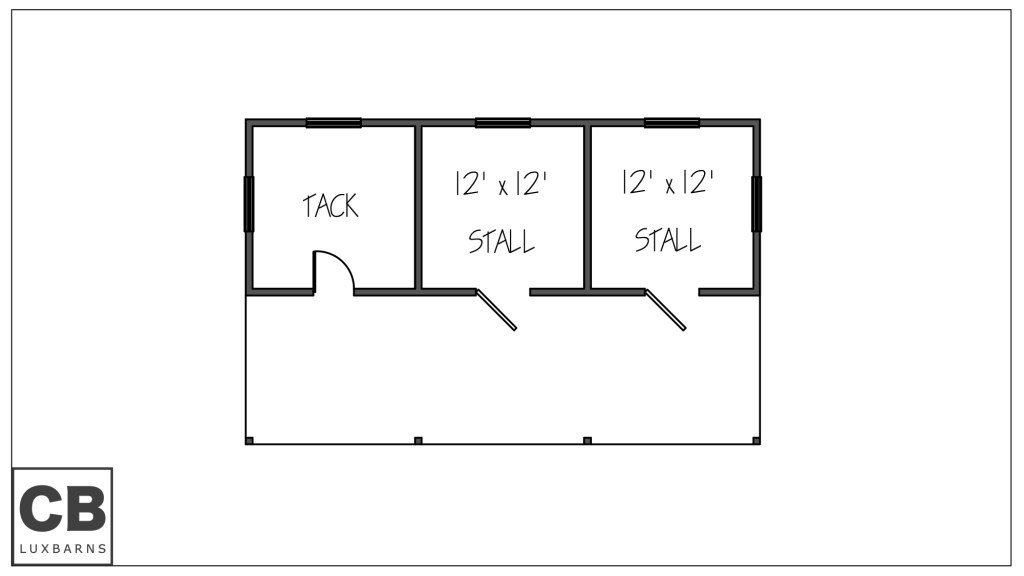 Wellington Floor Plan 40'