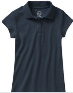 9019bcb7 Here's a great deal on Girl's Short Sleeve Polo Shirts or Boy's Short  Sleeve Polo Shirts for only $4.75 each from Walmart!