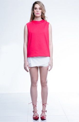 Joy Top with layered Lana Skorts by Canvas available at Chimes Boutiques
