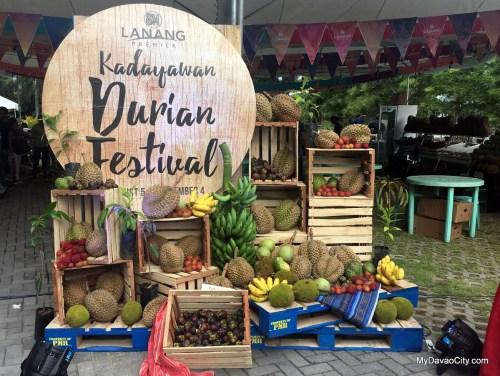 Kadayawan Durian Festival 2016 at SM Lanang Premier