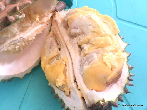 Durian at the Kadayawan Durian Festival 2016 at SM Lanang Premier