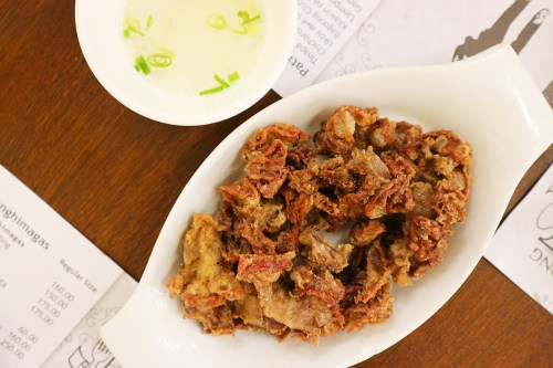 Chicharon Bulaklak (Deep Fried Pork Intestines) by Bagoong Club