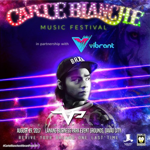Carte Blanche 2017 Lineup: Victor Pring