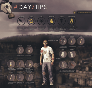 DayzTips 42 And I looked and behold a pale horse...
