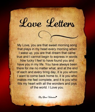 Love Letters  Valentine Love Letters for Her  Funny Love Letters For Him Love Letter 3
