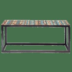 table basse bahia multicolore metal en