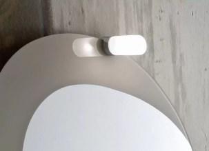 Faretto Lumen con lampada alogena L 4 x P 10 x A 4 cm
