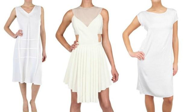 Kleider Trend Nummer 8: Wie trägt man Weiße Kleider?