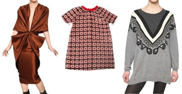 Oversized Kleider - der Trend im Winter 2012/2013