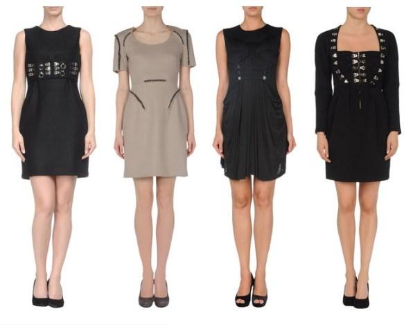 Marios Schwab Kleider - voller Transparenz und Eleganz