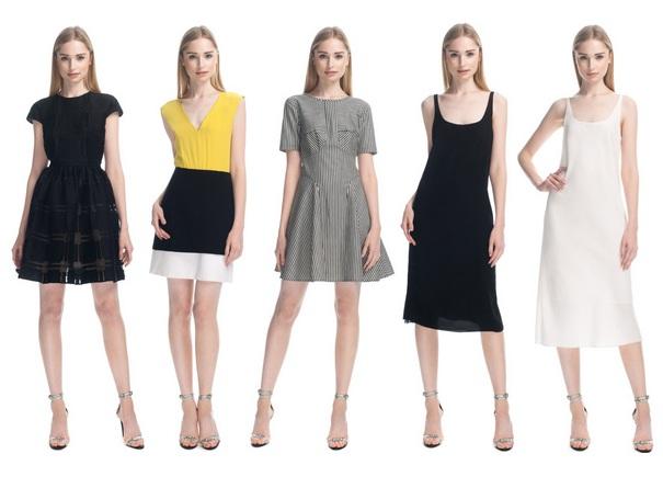 Tibi Kleider 2013 - mädchenhafte Eleganz