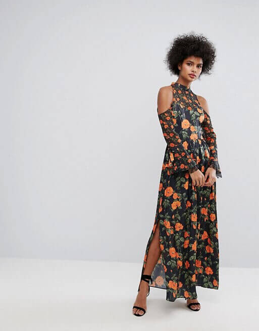 Blumenkleid Hippie